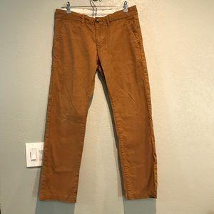 Peak performance khaki chino pants 31/32